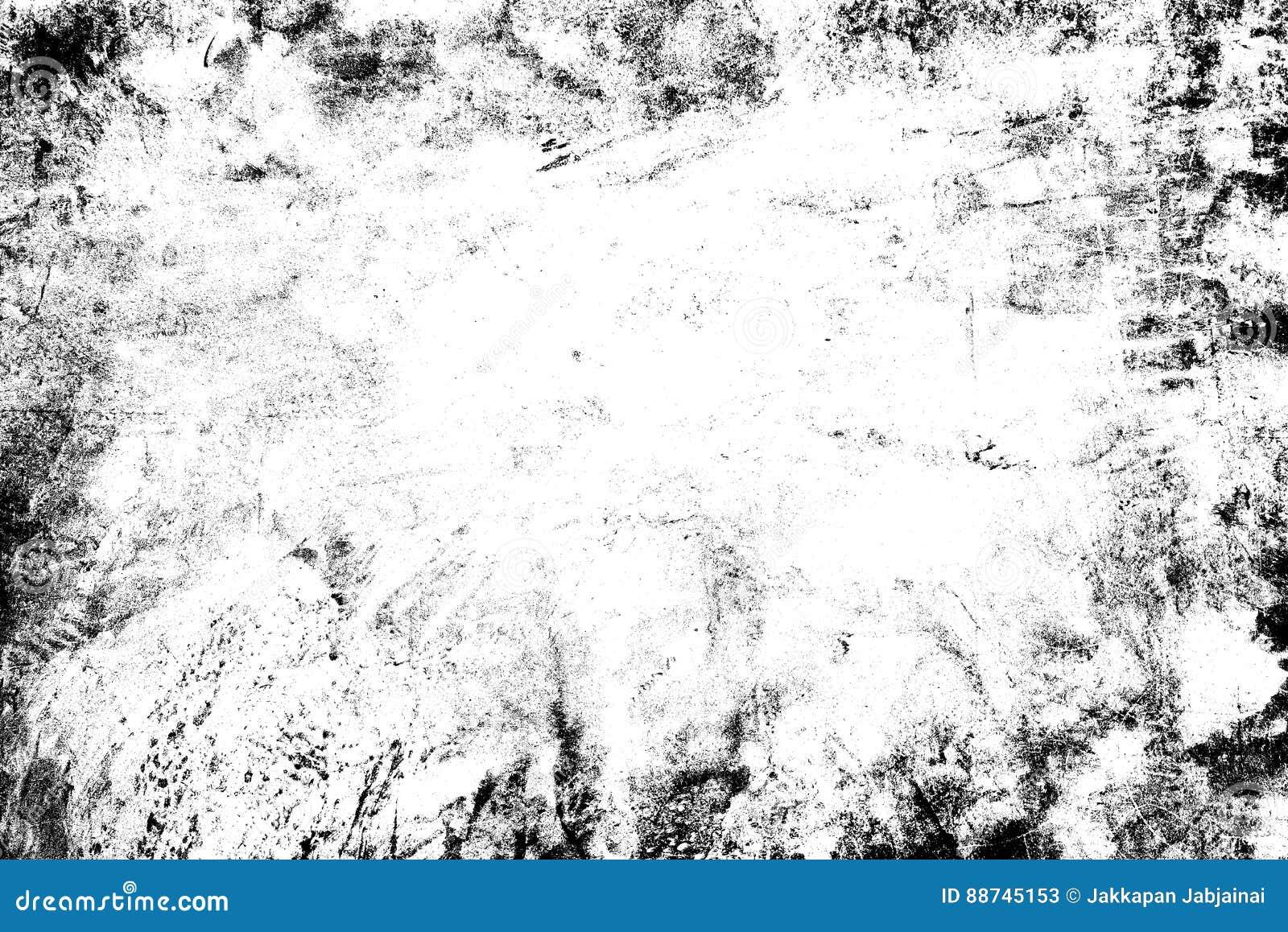 Texture abstraite de particules de poussière et de grain de poussière sur le fond blanc,