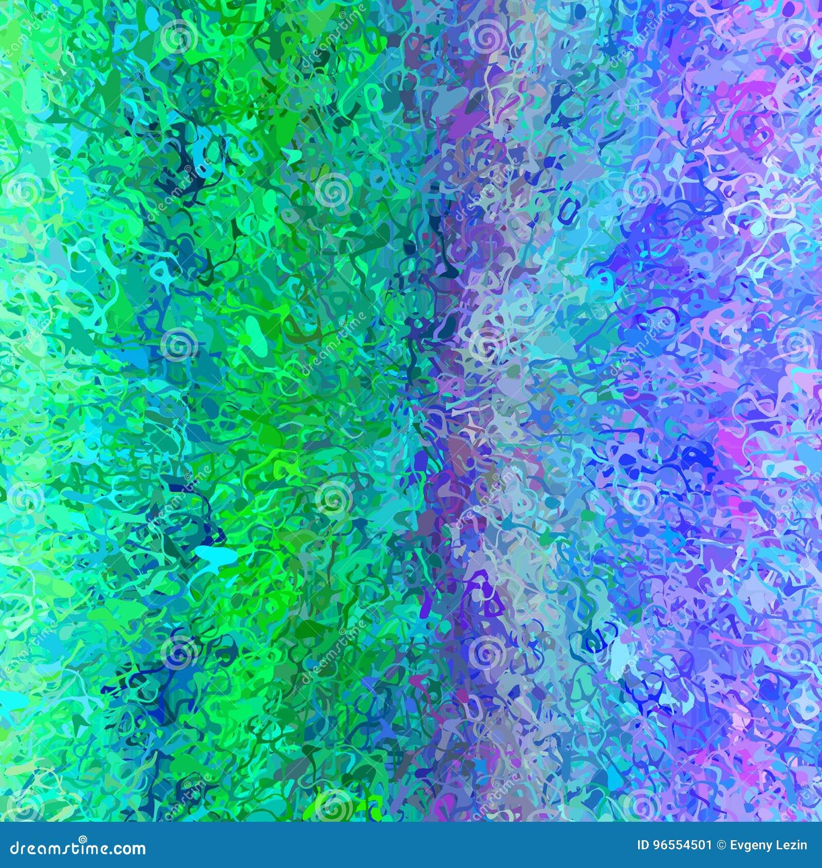 texture al atoire de fond d 39 effet d 39 claboussure de peinture avec le vert bleu illustration. Black Bedroom Furniture Sets. Home Design Ideas
