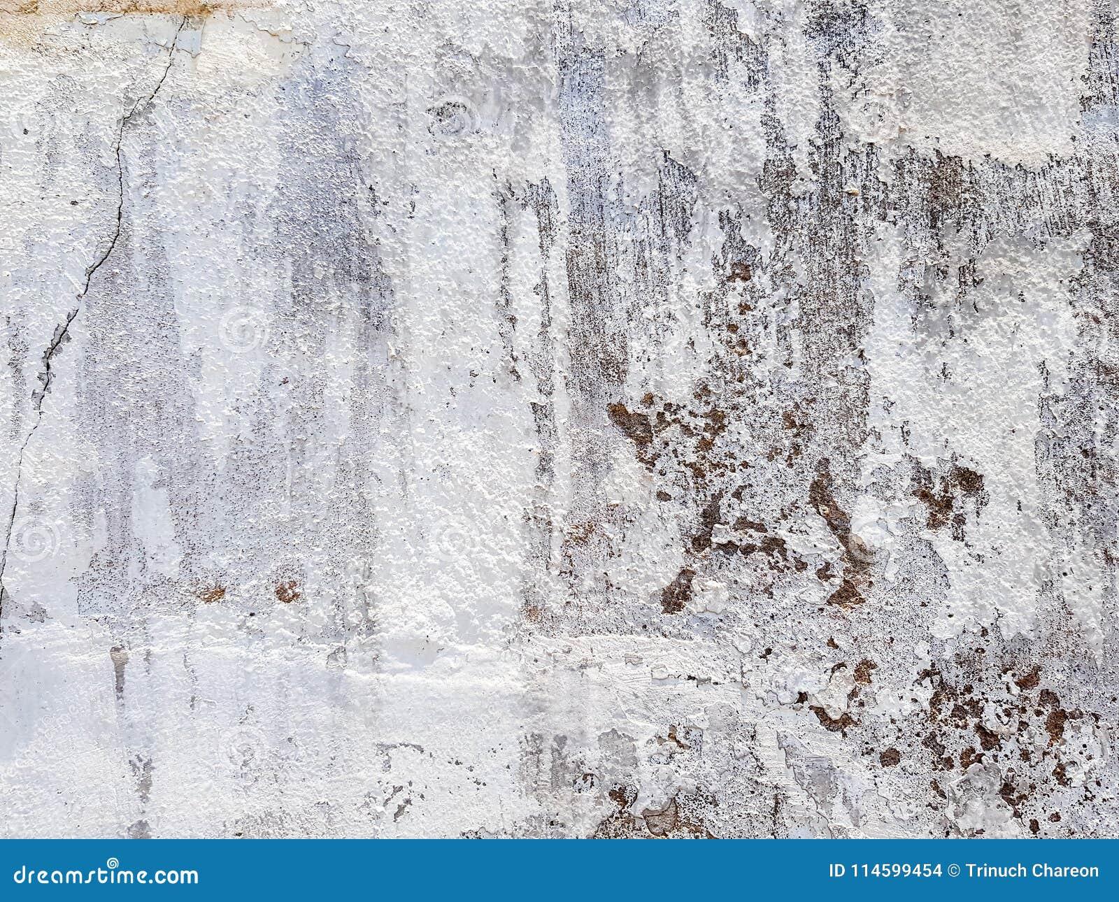 Texture Approximative Inégale De Mur Blanc De Peinture Avec