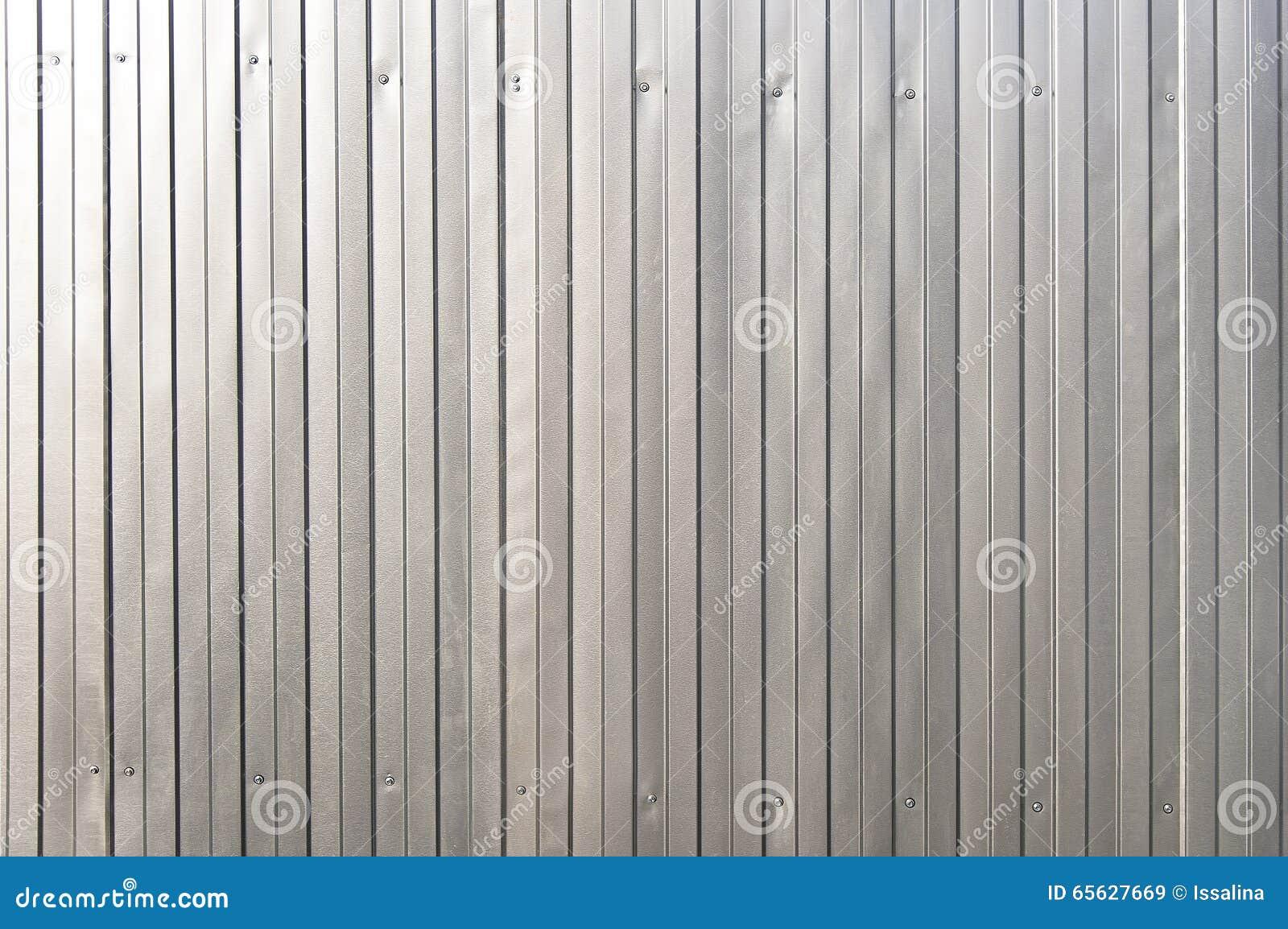 Texture argentée de fond de récipient en métal