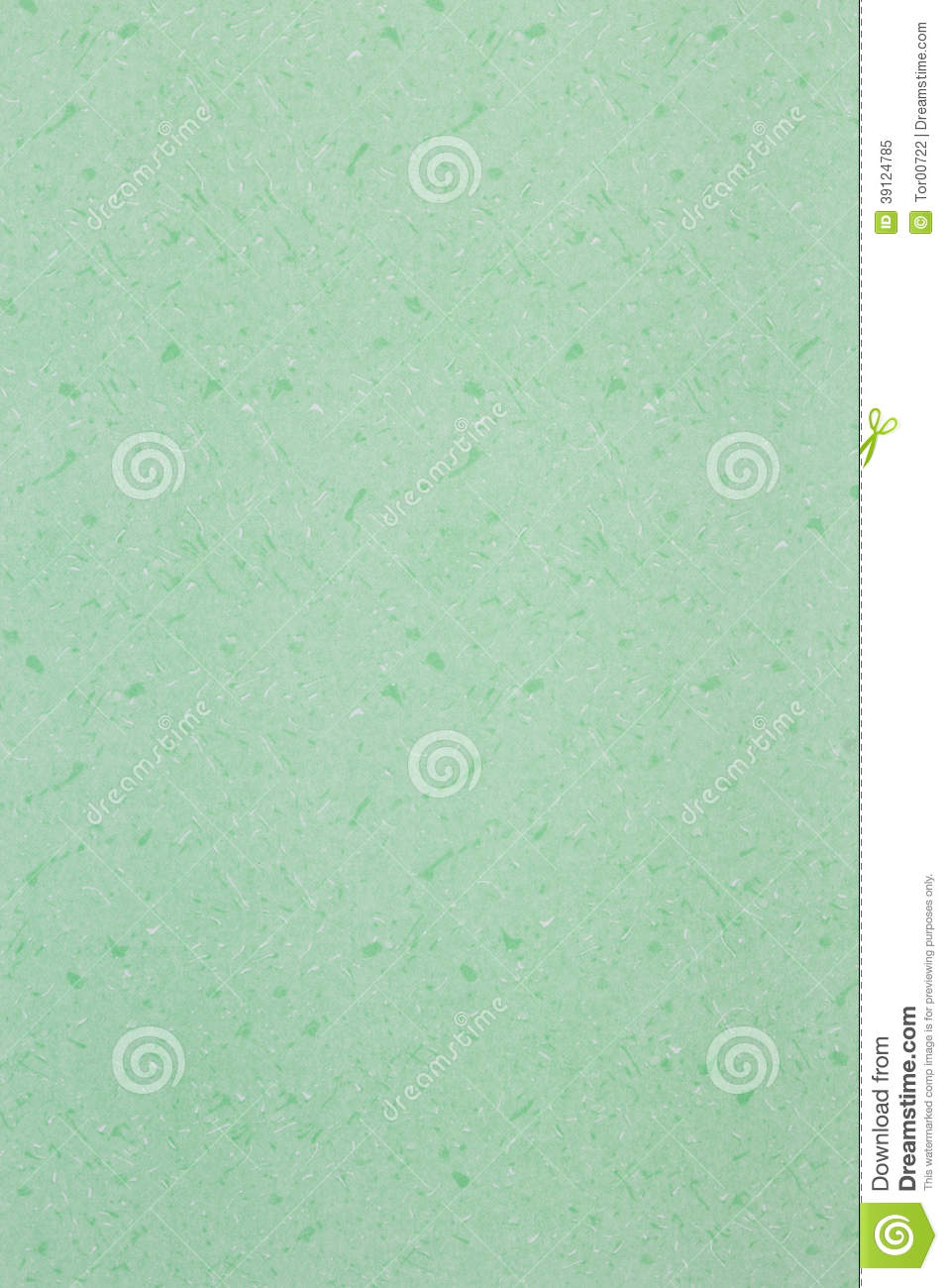 Texture, Background Of Green Color Paper Is Blank Page Stock Image ...