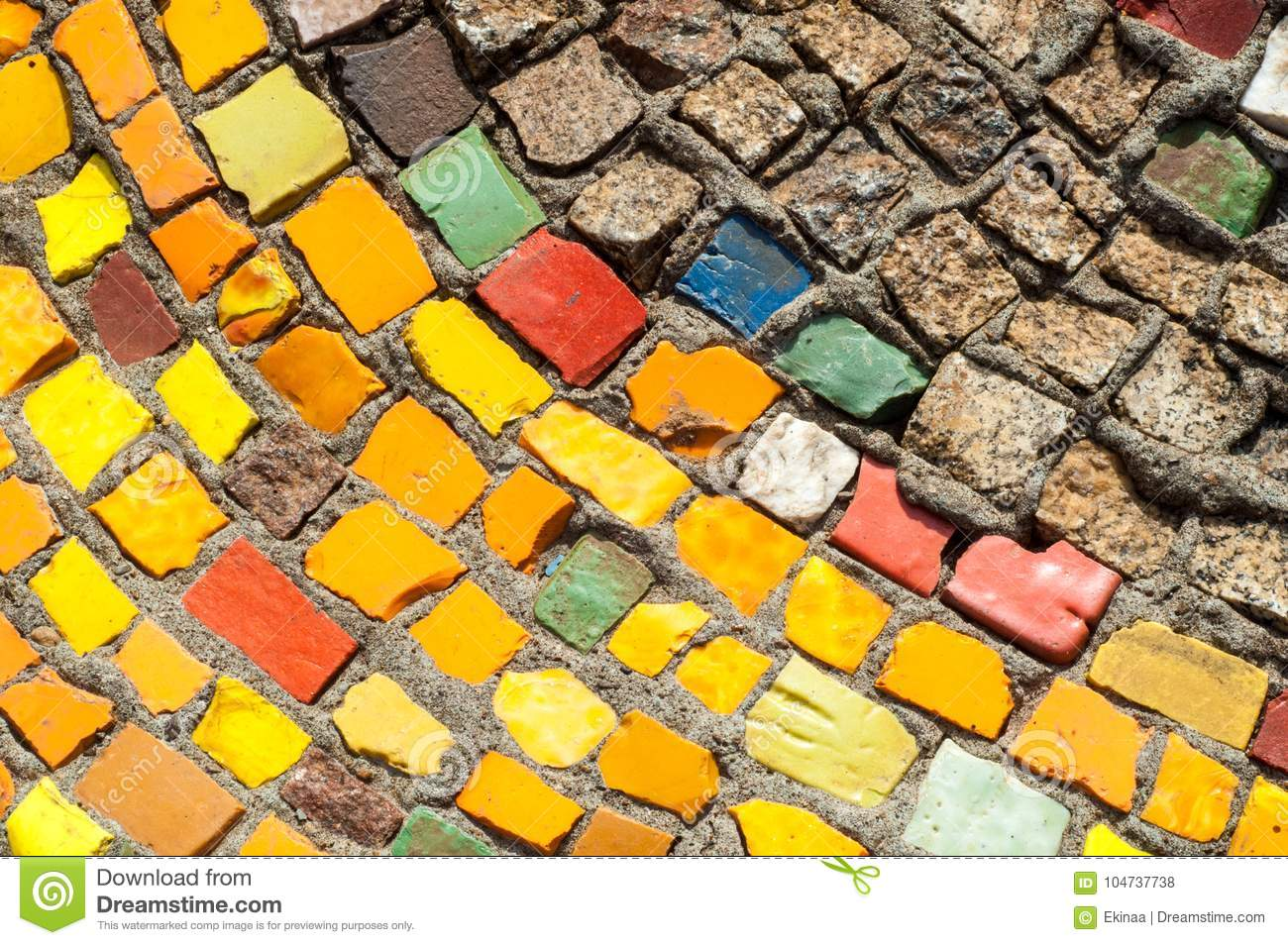 Texture, Background, Pattern. Closeup Photo Of Multi-colored Mos ...