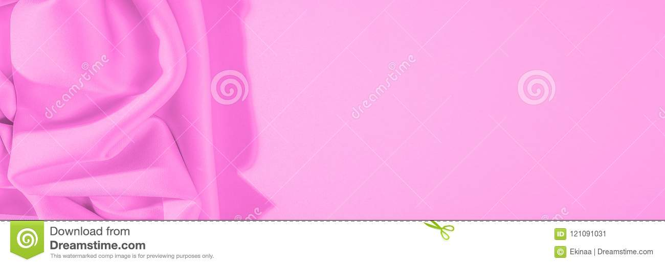 Texture. Background. Template. Cloth - Silk Pink. In Color Direc ...