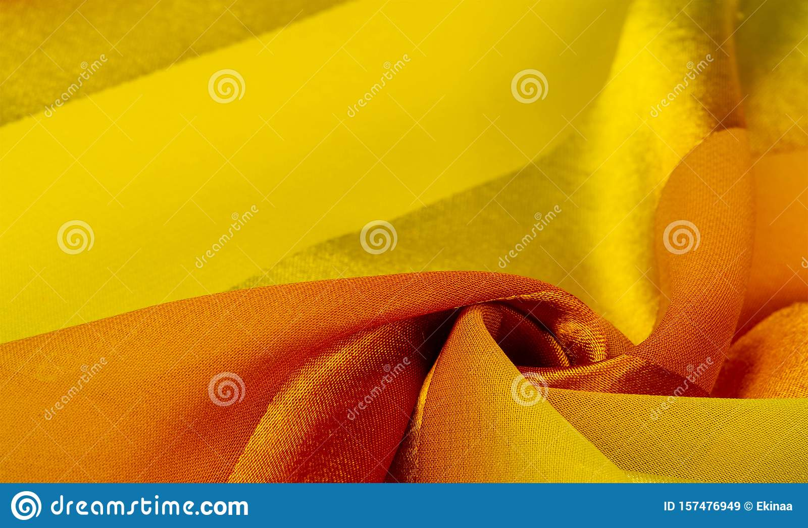 Texture, background, yellow silk striped fabric with a metallic sheen. If you have a bad mood, this fabric will lift it to