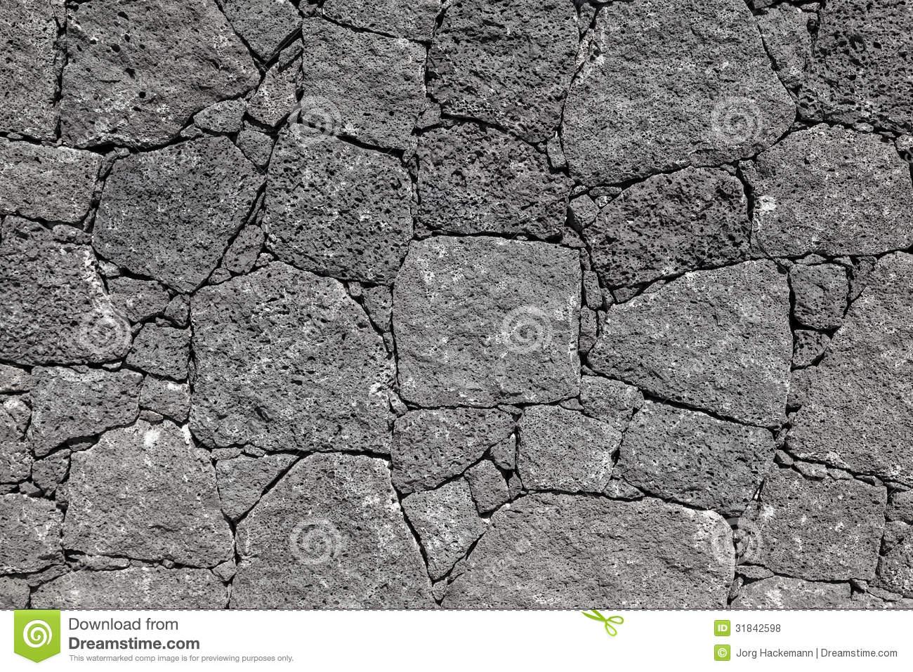 Texture Of Black Volcanic Rock Wall From Lanzarote, Canary ...