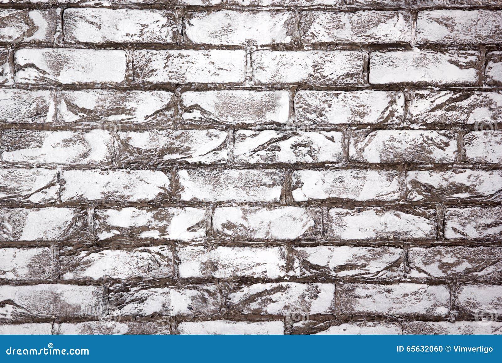Texture blanche de mur de briques Fond urbain de ville