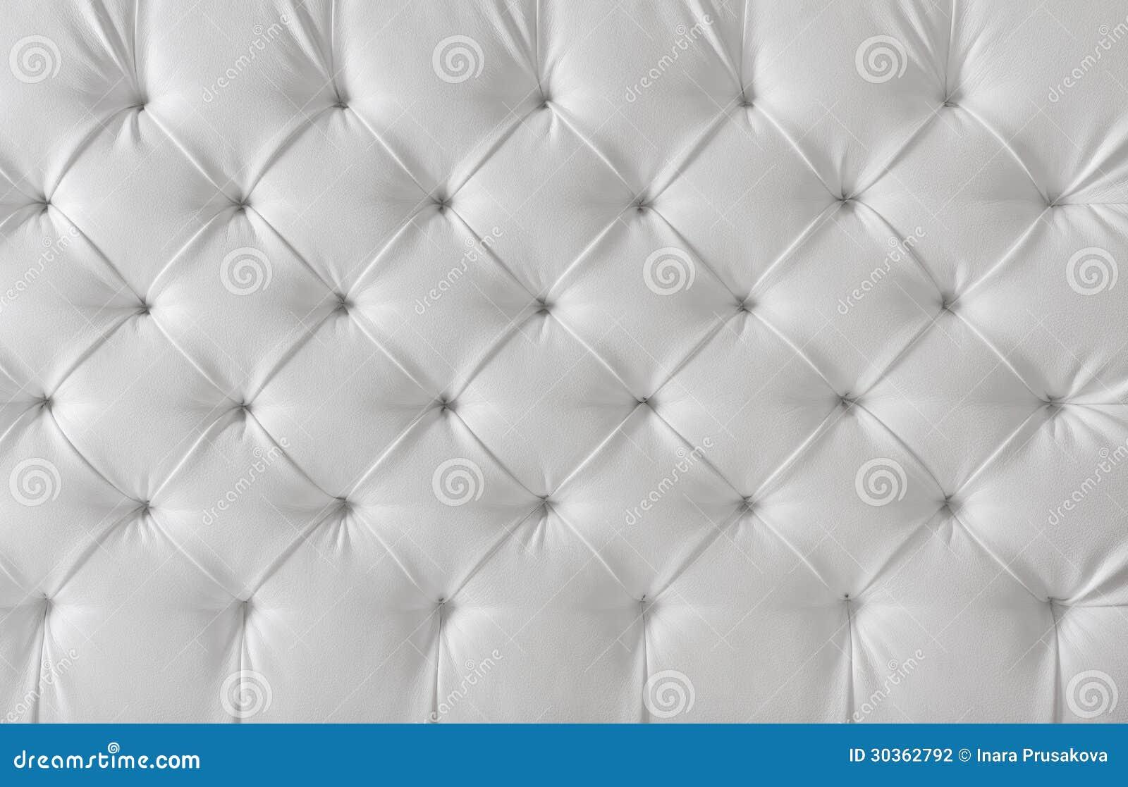 Texture Blanche De Tapisserie D Ameublement En Cuir Fond