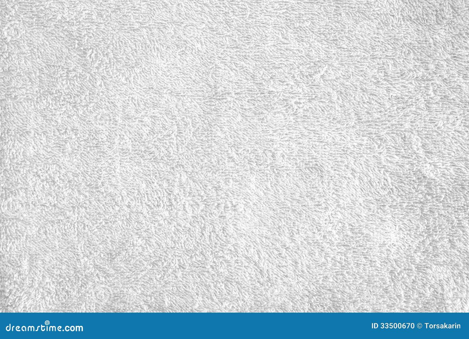 Texture Of Bright White Bath Towel Stock Photo Image