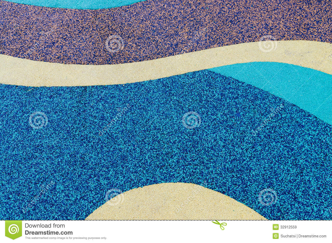 Texture Of Color Rubber Floor Royalty Free Stock Images