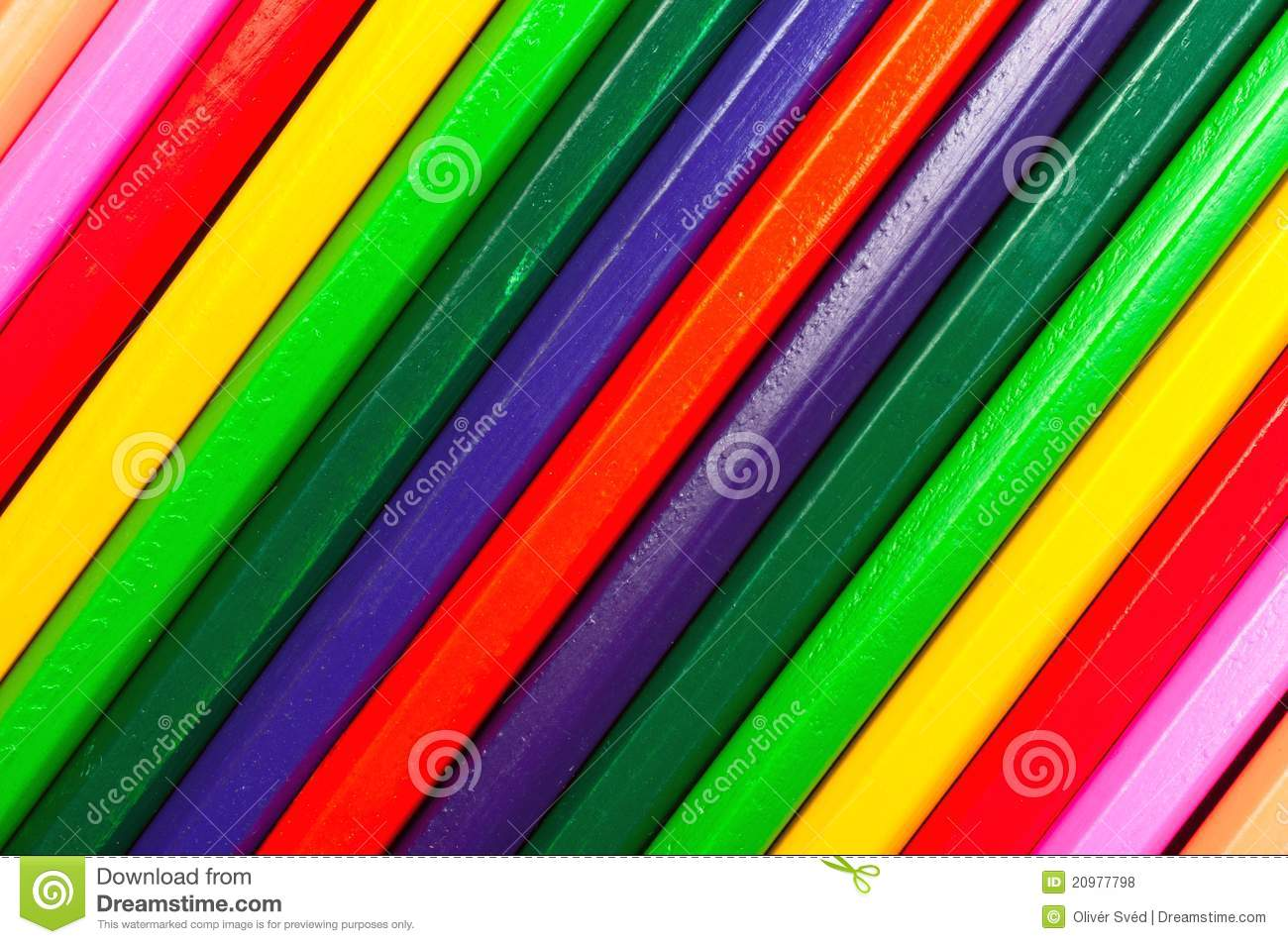Texture of colored pencils stock photo. Image of office ...