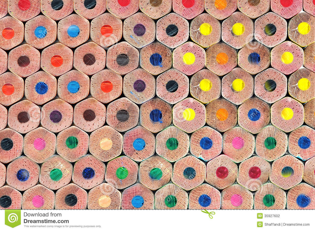 Texture of colored pencils stock photo. Image of leisure ...