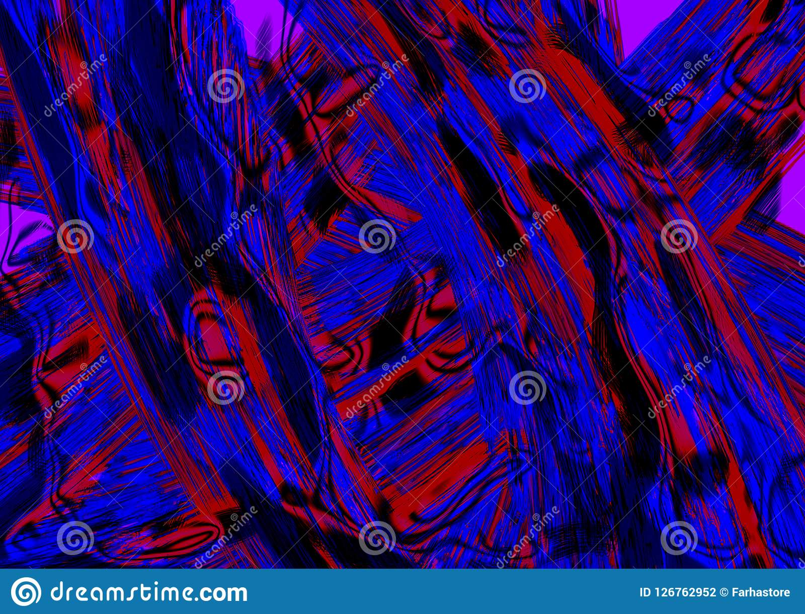 Texture Colorful Graphic Design And Modern Digital Abstract Art Gradient Effect With Multi Color Wallpaper Wall Pattern