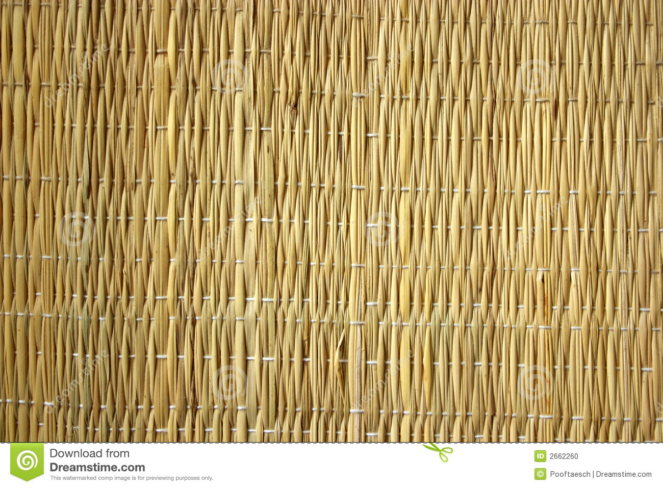 Texture Couvre Tapis De Paille Photo Stock Image 2662260