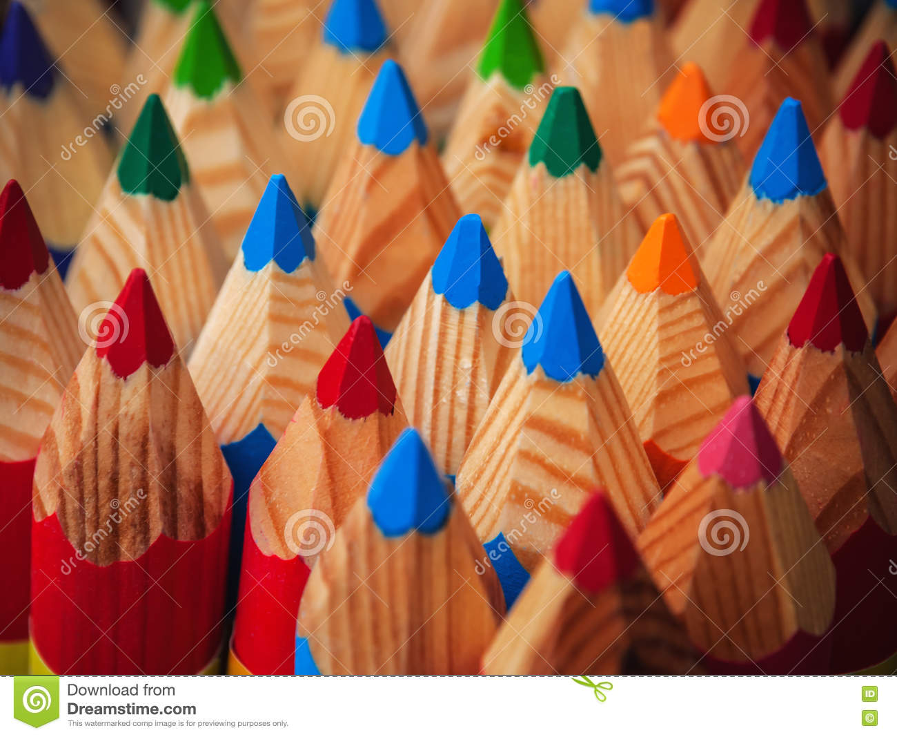 texture of crayons stock image image of multi colored 70381493