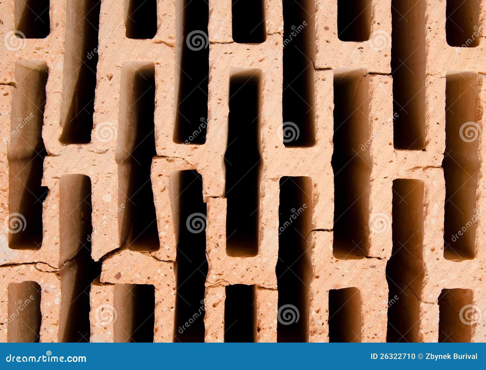 texture creuse de brique photo stock image 26322710. Black Bedroom Furniture Sets. Home Design Ideas