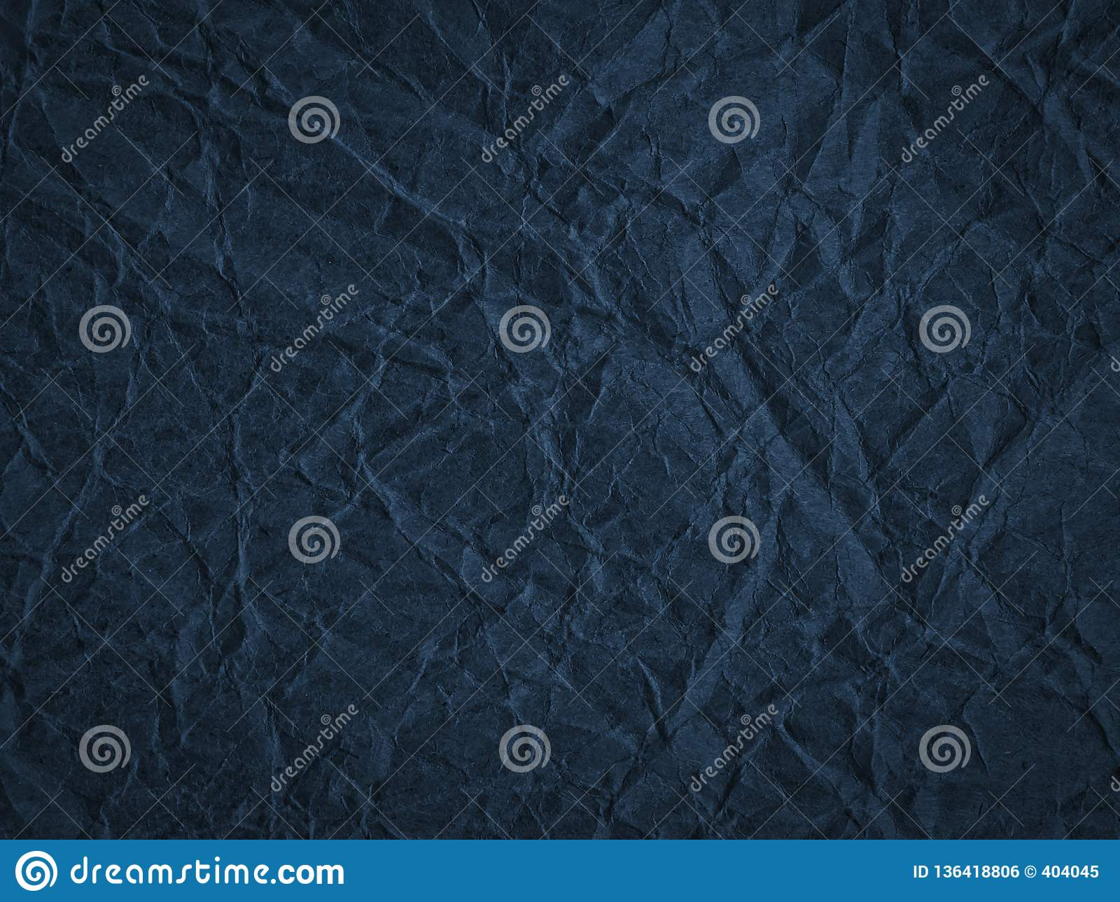 Texture of crumpled craft paper. Abstract background