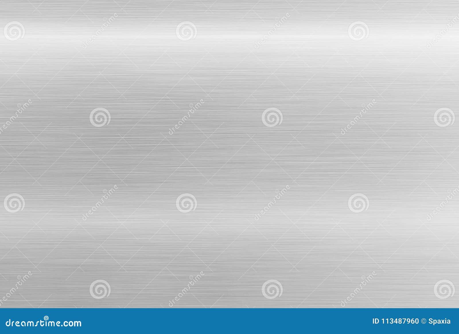 Texture d acier inoxydable Fond en aluminium poli