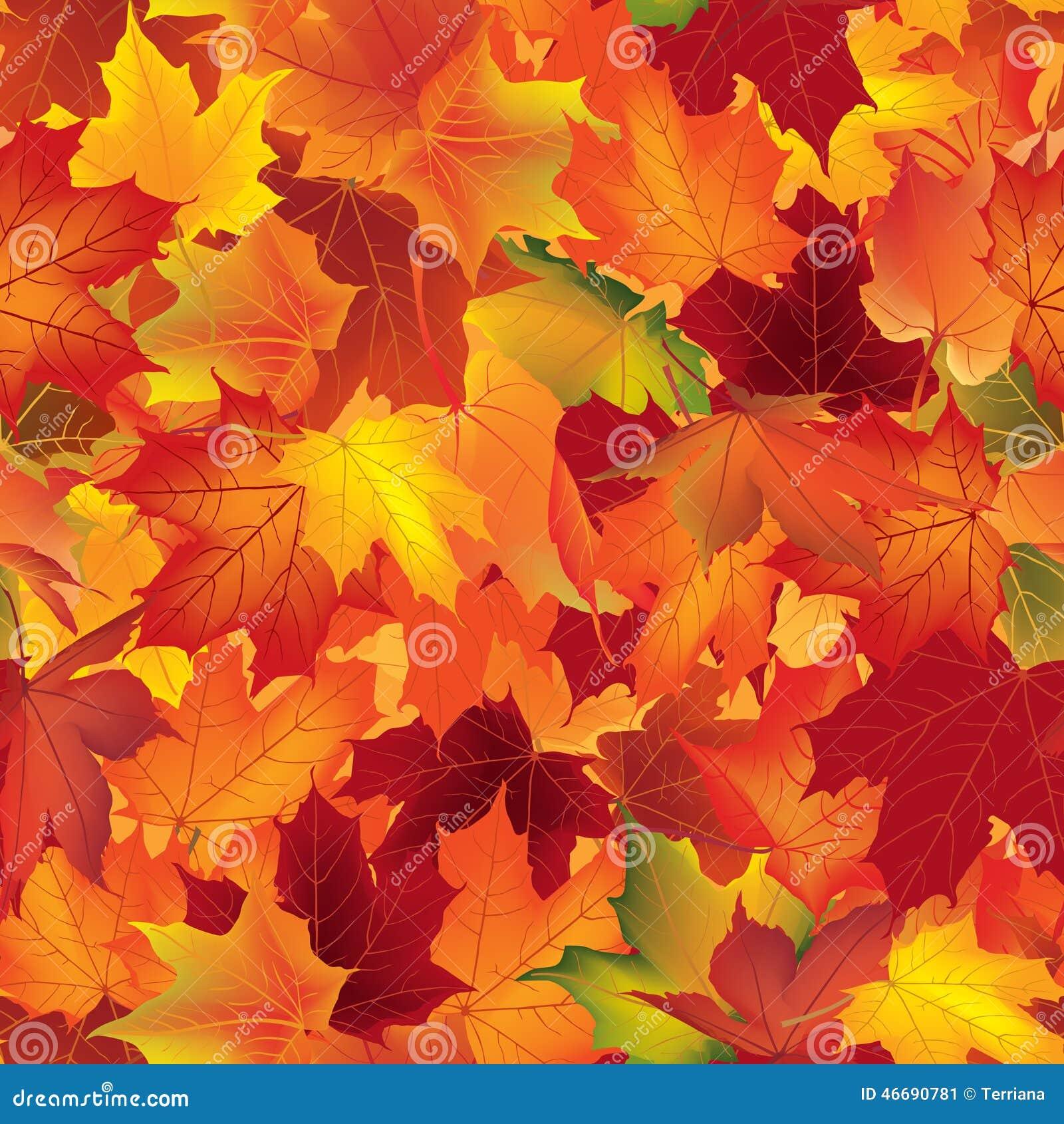 texture d 39 automne mod le de chute papier peint avec des feuilles d 39 rable illustration stock. Black Bedroom Furniture Sets. Home Design Ideas