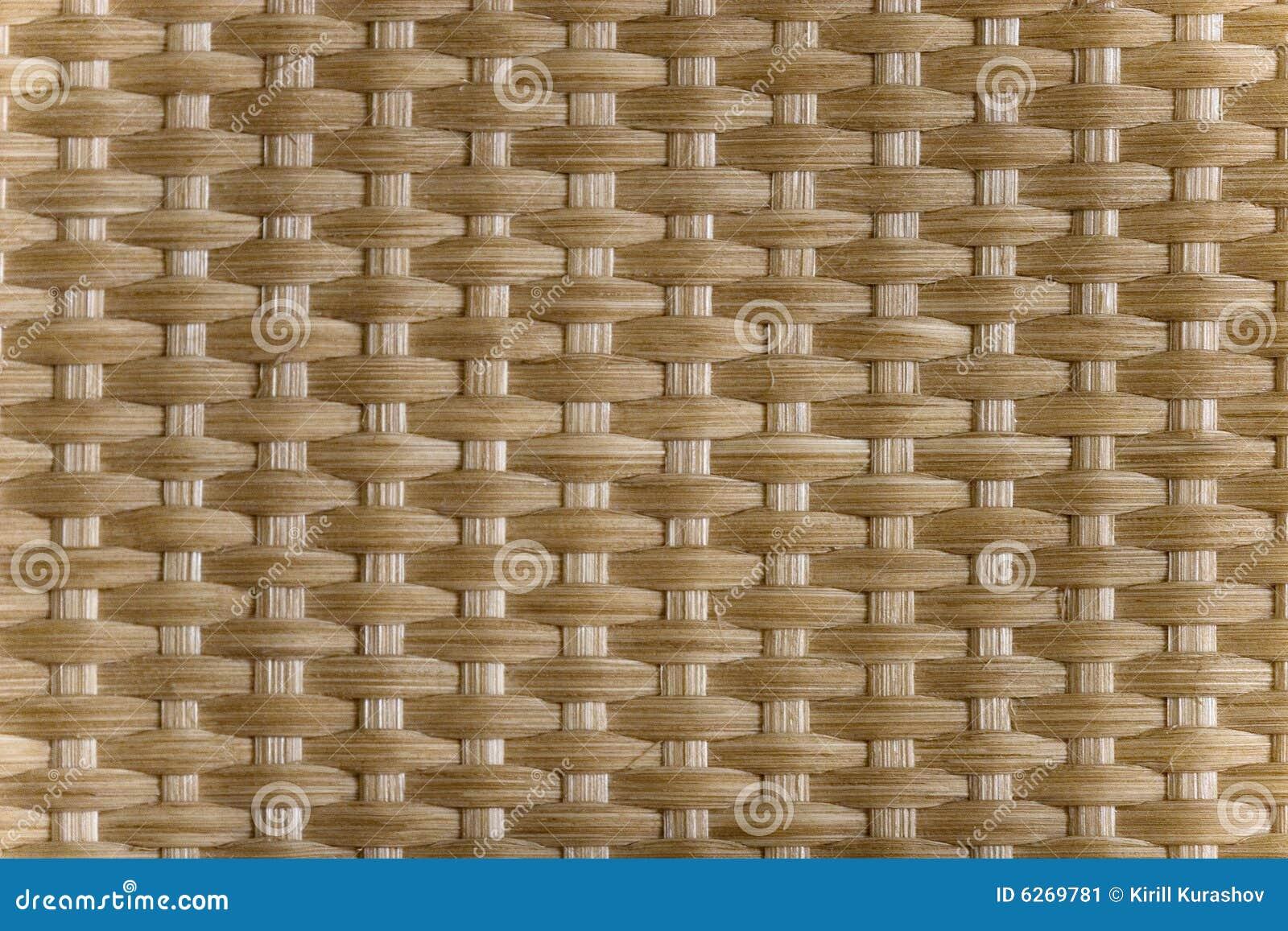 Texture d 39 osier de tresse image stock image du rotin - Table en osier tresse ...