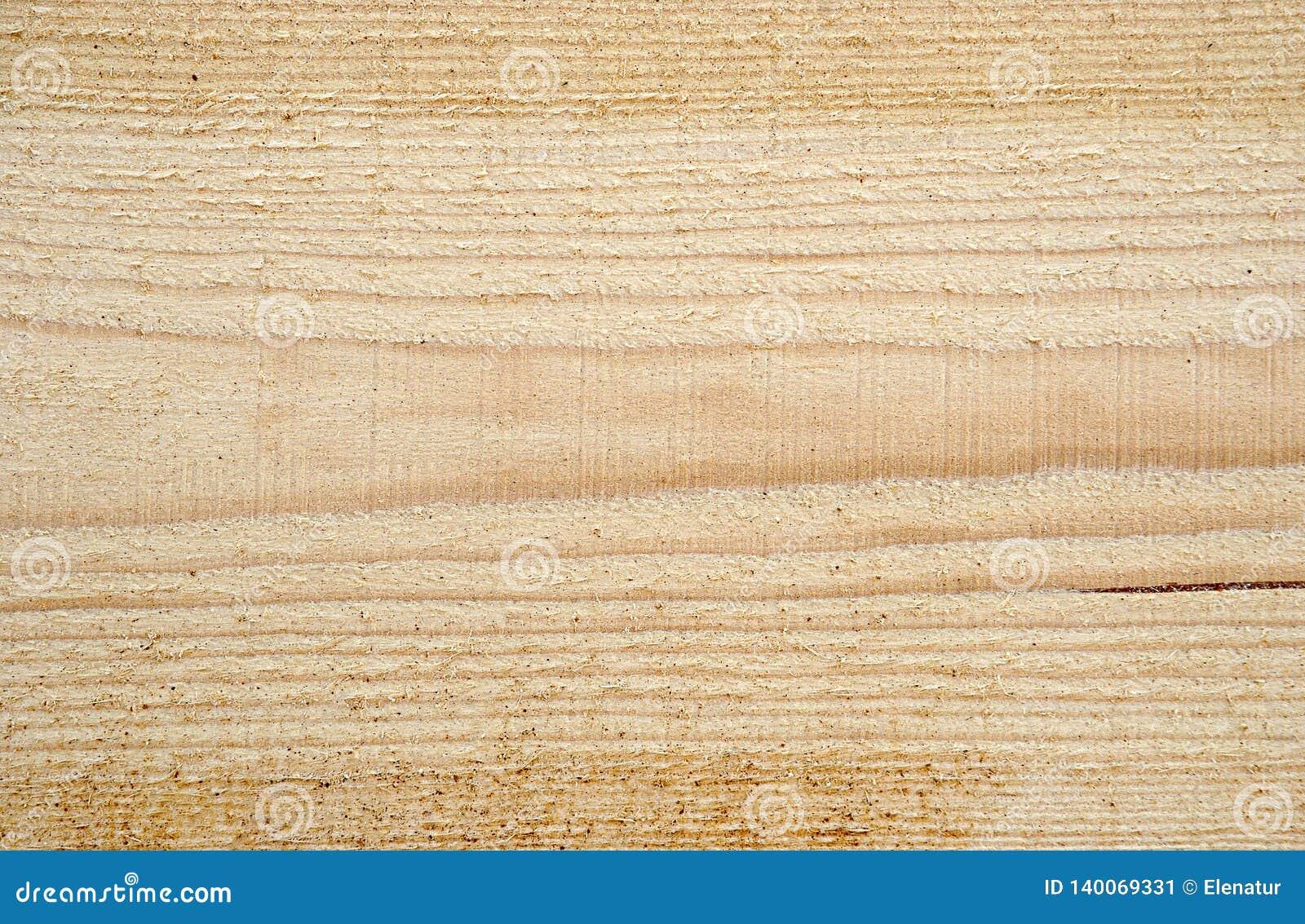 Texture de bois fraîchement scié, fond, plan rapproché