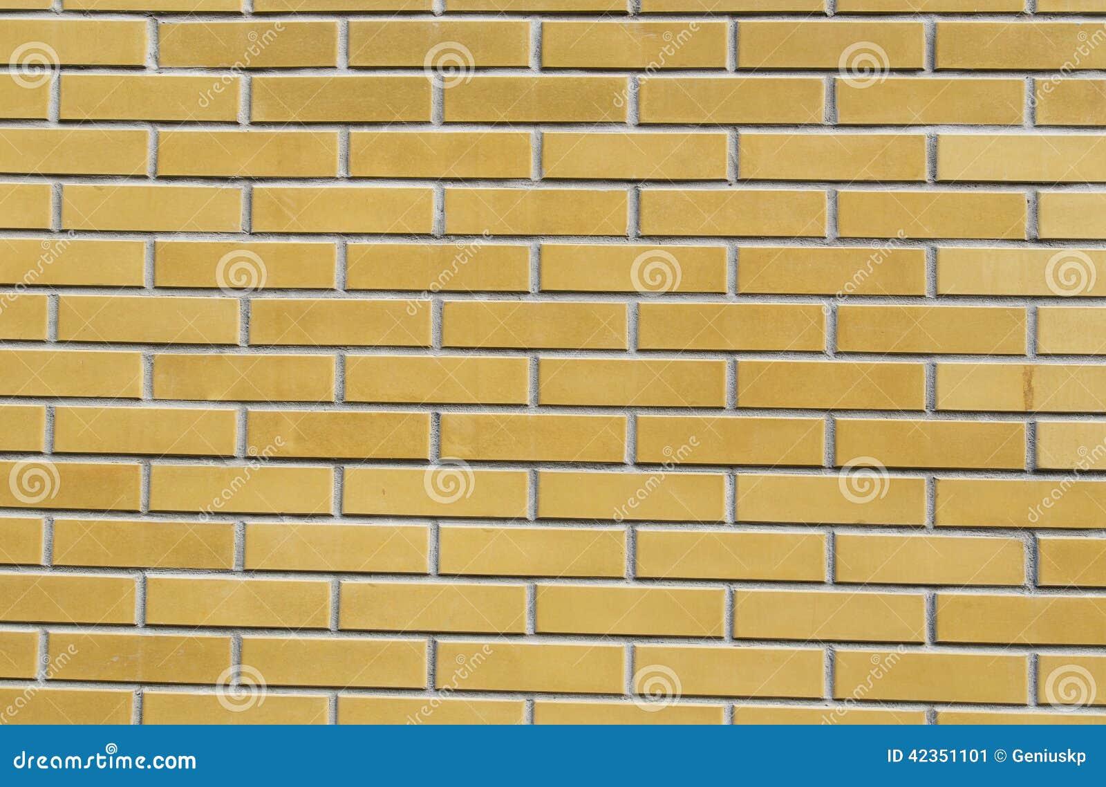 texture de brique jaune photo stock image 42351101. Black Bedroom Furniture Sets. Home Design Ideas