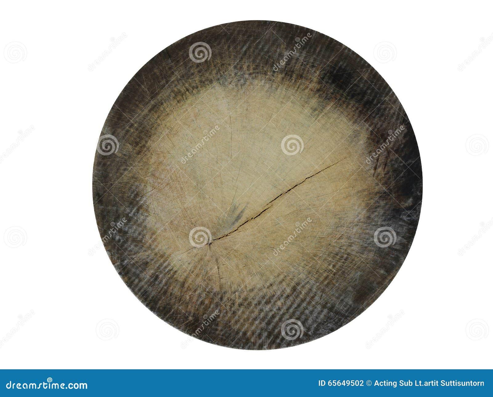 Texture de cercle en bois