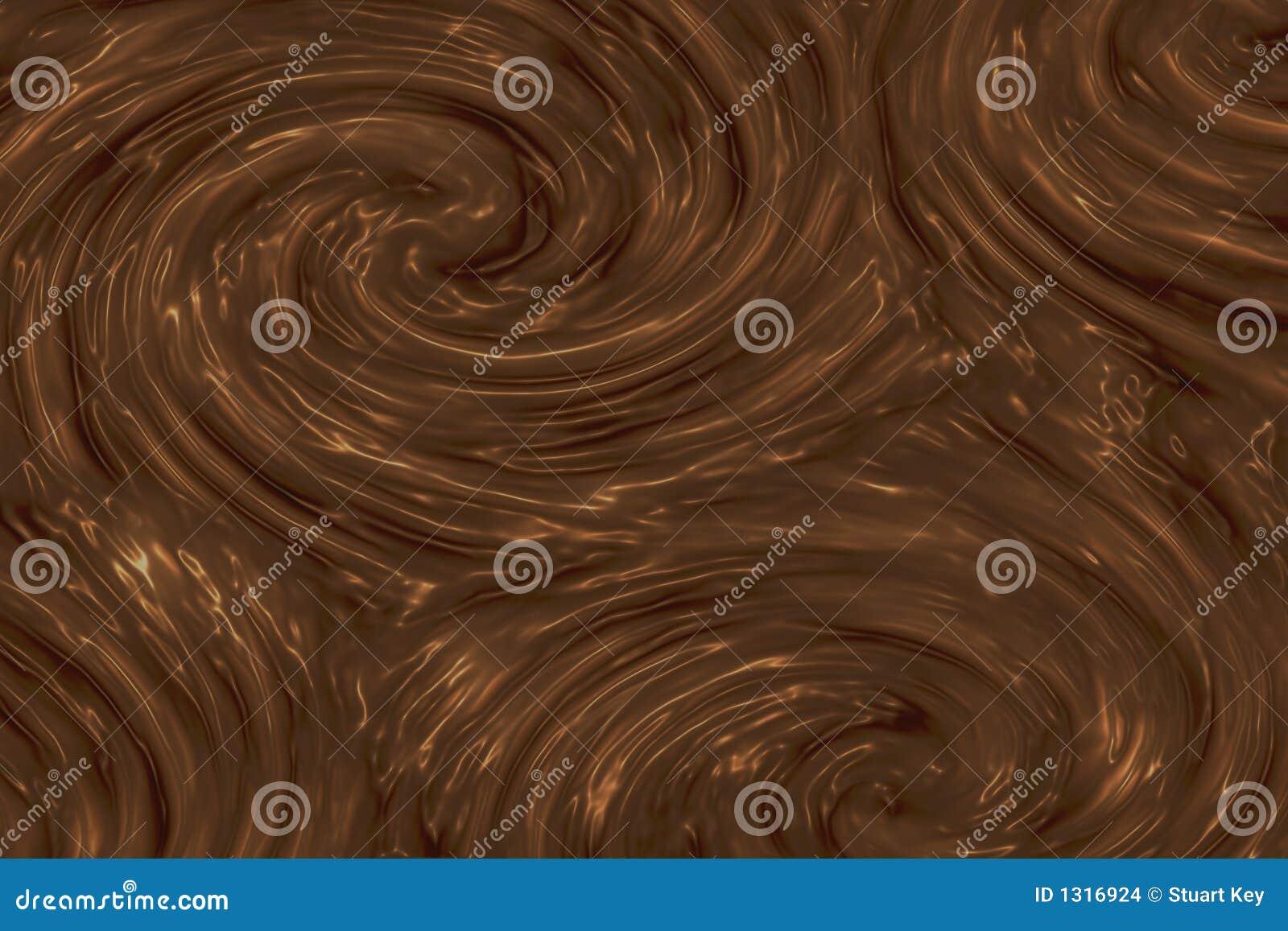 Texture de chocolat