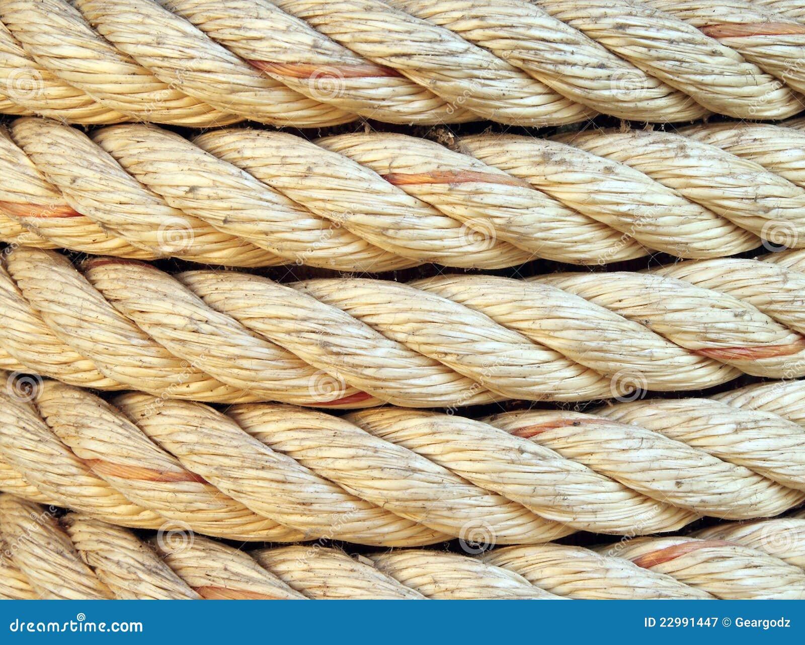 Texture de corde photographie stock libre de droits for Photographie de stock