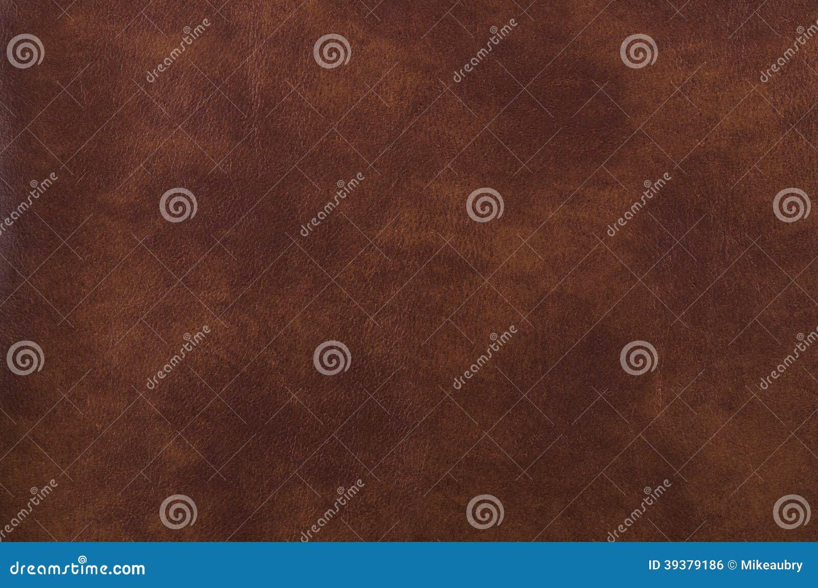 Texture de cuir de brun foncé