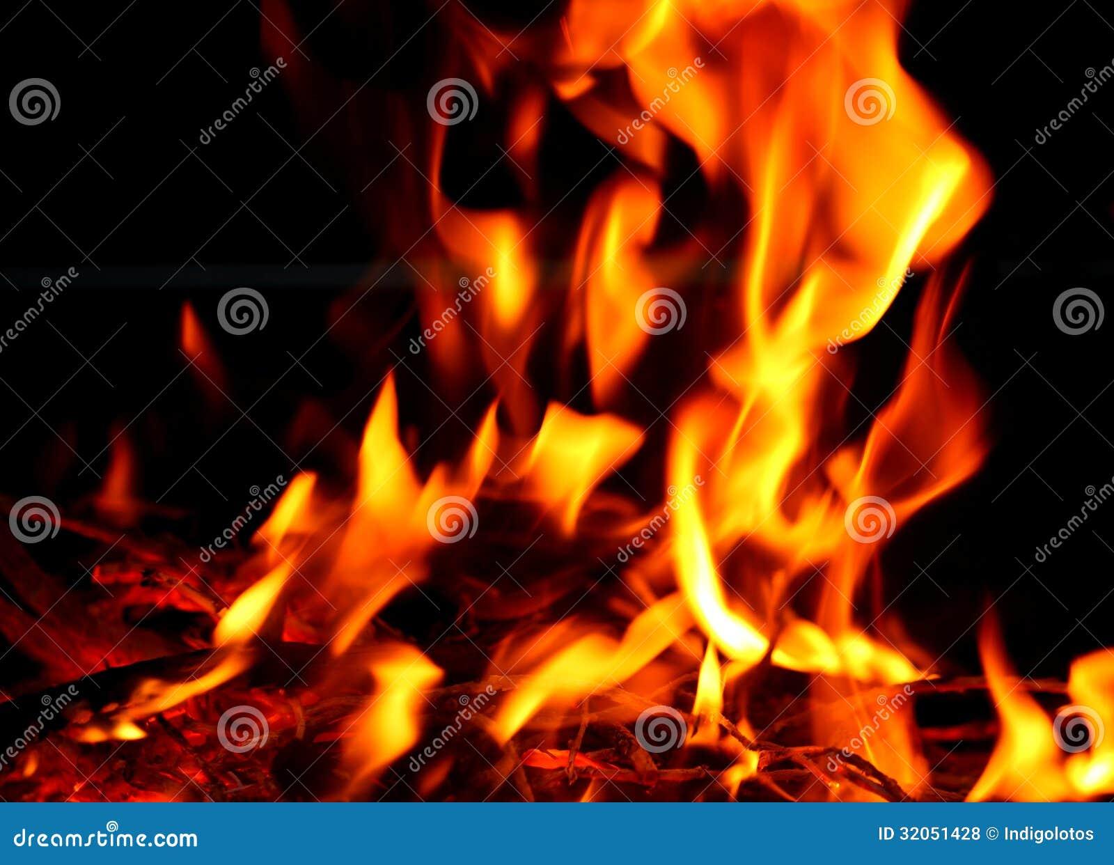 Texture De Flamme Du Feu De Flamme Sur Un Fond Entier Photo stock - Image du enfer, heat: 32051428