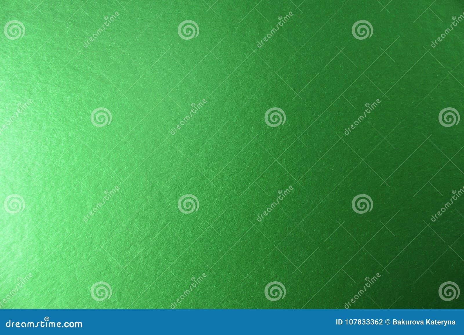 Texture de fond de papier métallique vert