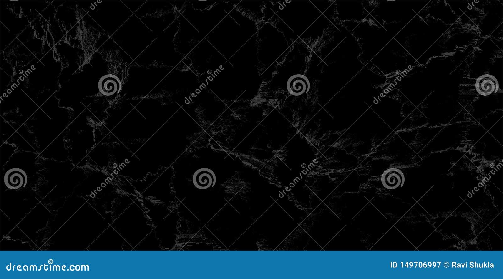 Texture de marbre noire naturelle pour le fond luxueux de papier peint de tuile de peau, pour l oeuvre d art de conception Intéri