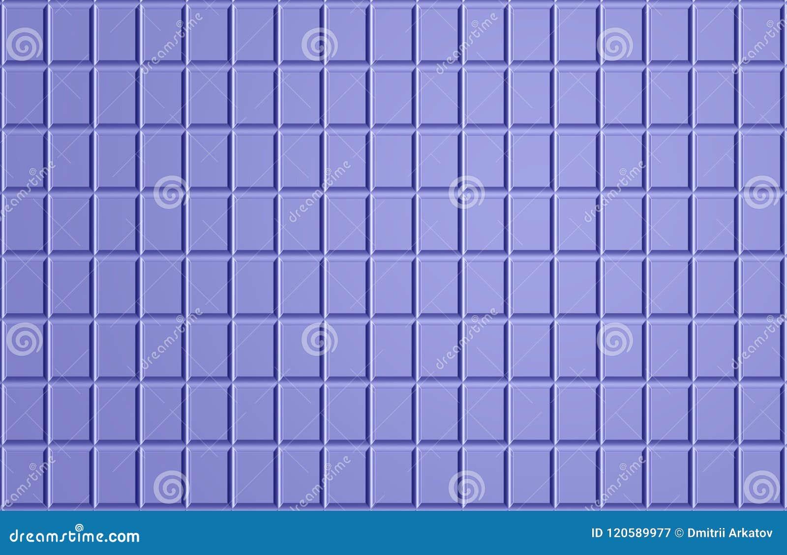 Texture de mosaïque carrée bleue