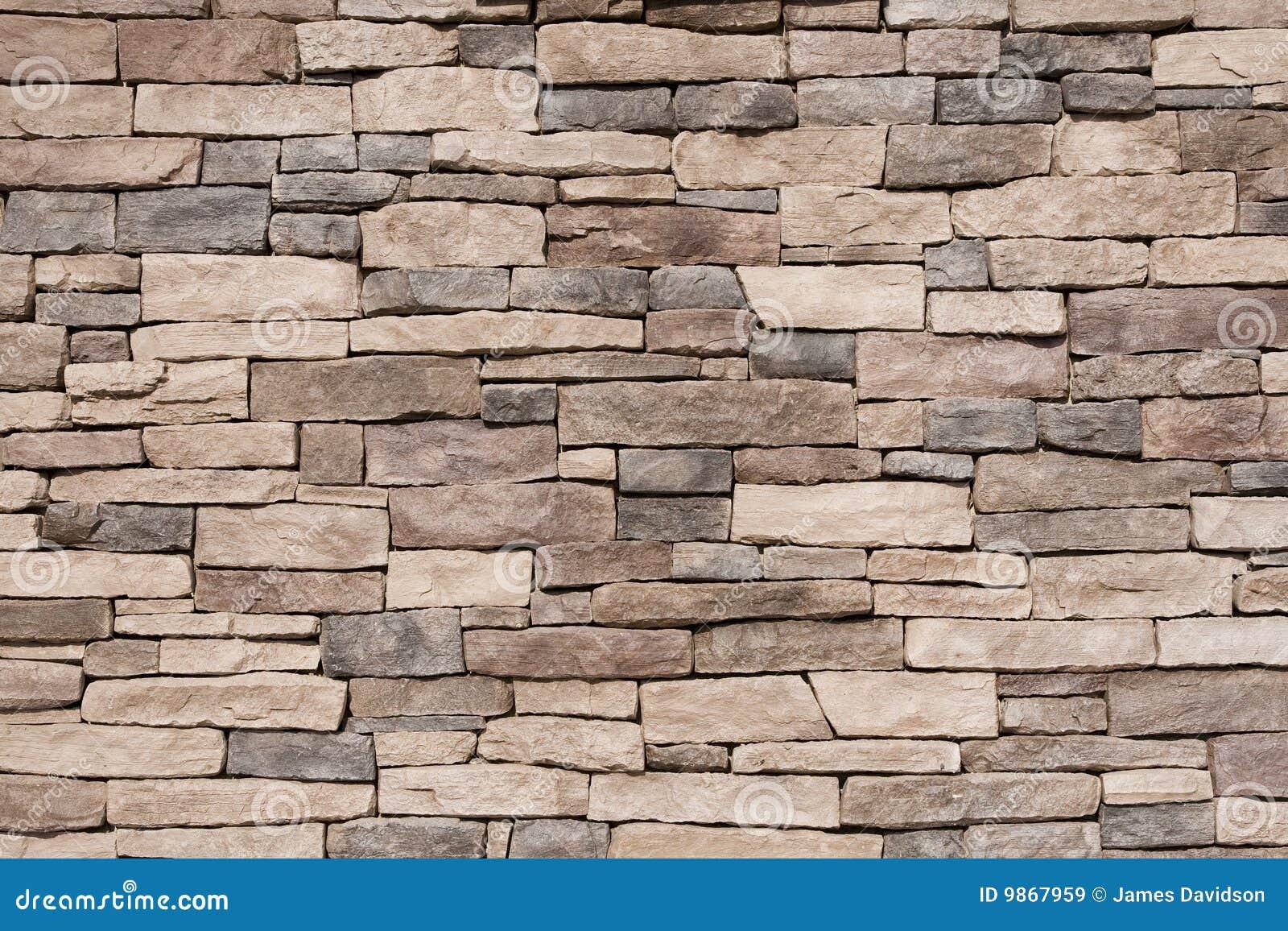 texture de mur en pierre de brown images libres de droits image 9867959. Black Bedroom Furniture Sets. Home Design Ideas