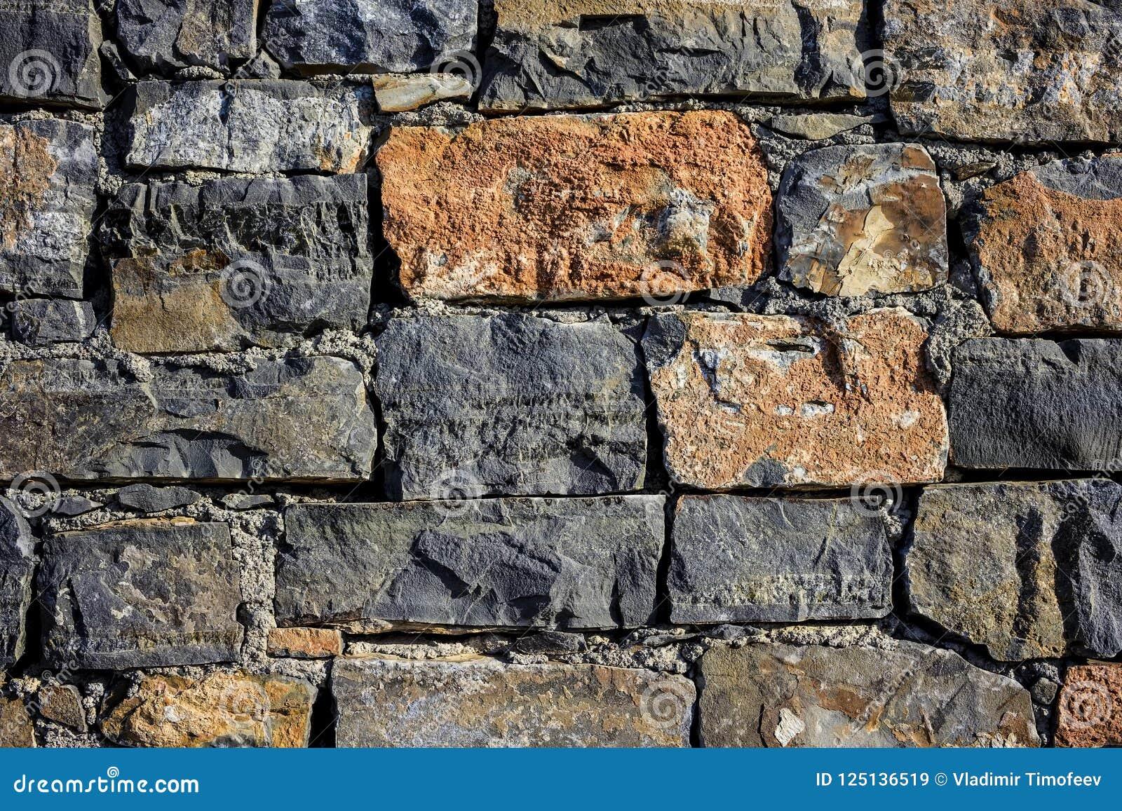 Mur En Pierre Naturelle texture de mur de granit, texture sans couture, maçonnerie