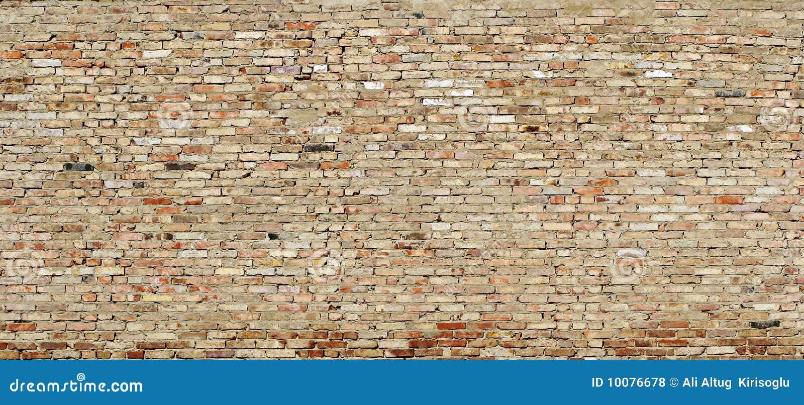 Texture De Mur Grunge à L Extérieur Usées Des Briques