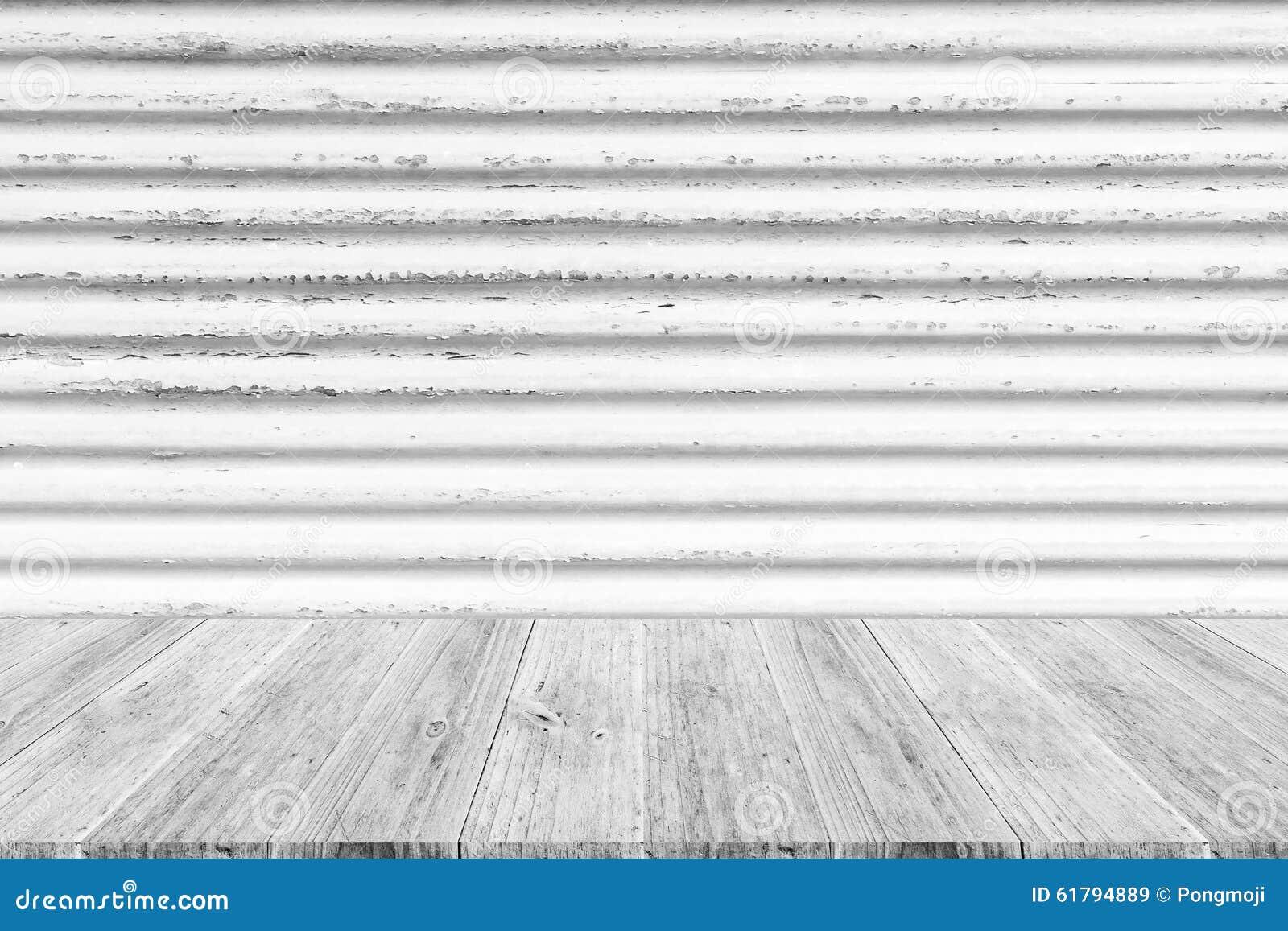 texture de mur terrasse et de rouille en bois en m tal photo stock image 61794889. Black Bedroom Furniture Sets. Home Design Ideas