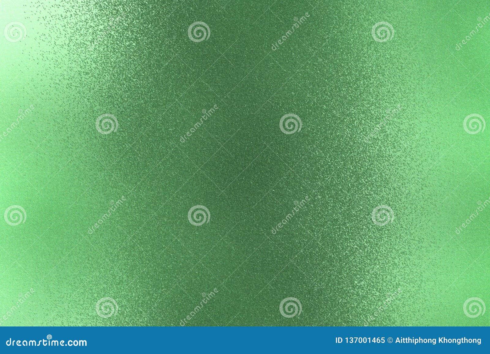 Texture De Mur Vert Foncé Rugueux En Métal De Peinture Fond