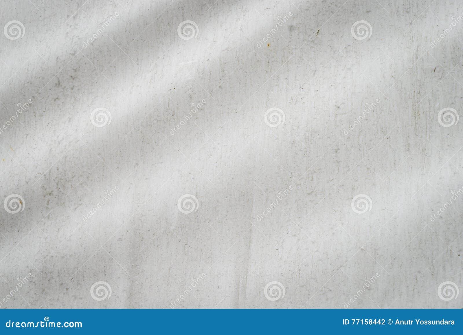 Texture de ondulation sale blanche de tissu