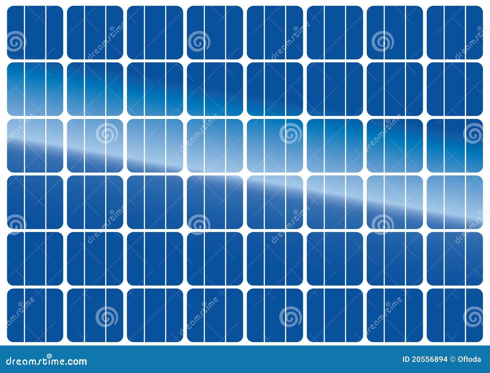 texture de panneau solaire images stock image 20556894. Black Bedroom Furniture Sets. Home Design Ideas