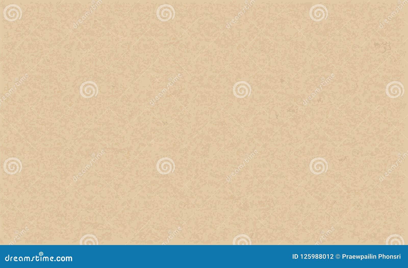 Texture de papier de Brown pour le fond Vecteur