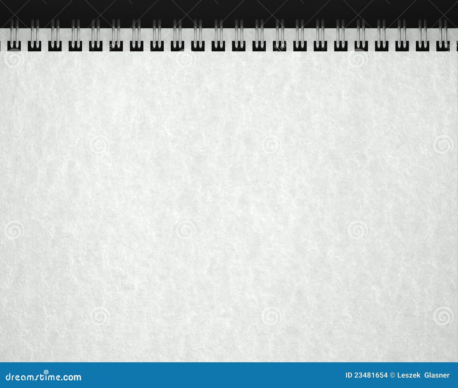 texture de papier dans le carnet blanc images stock image 23481654. Black Bedroom Furniture Sets. Home Design Ideas