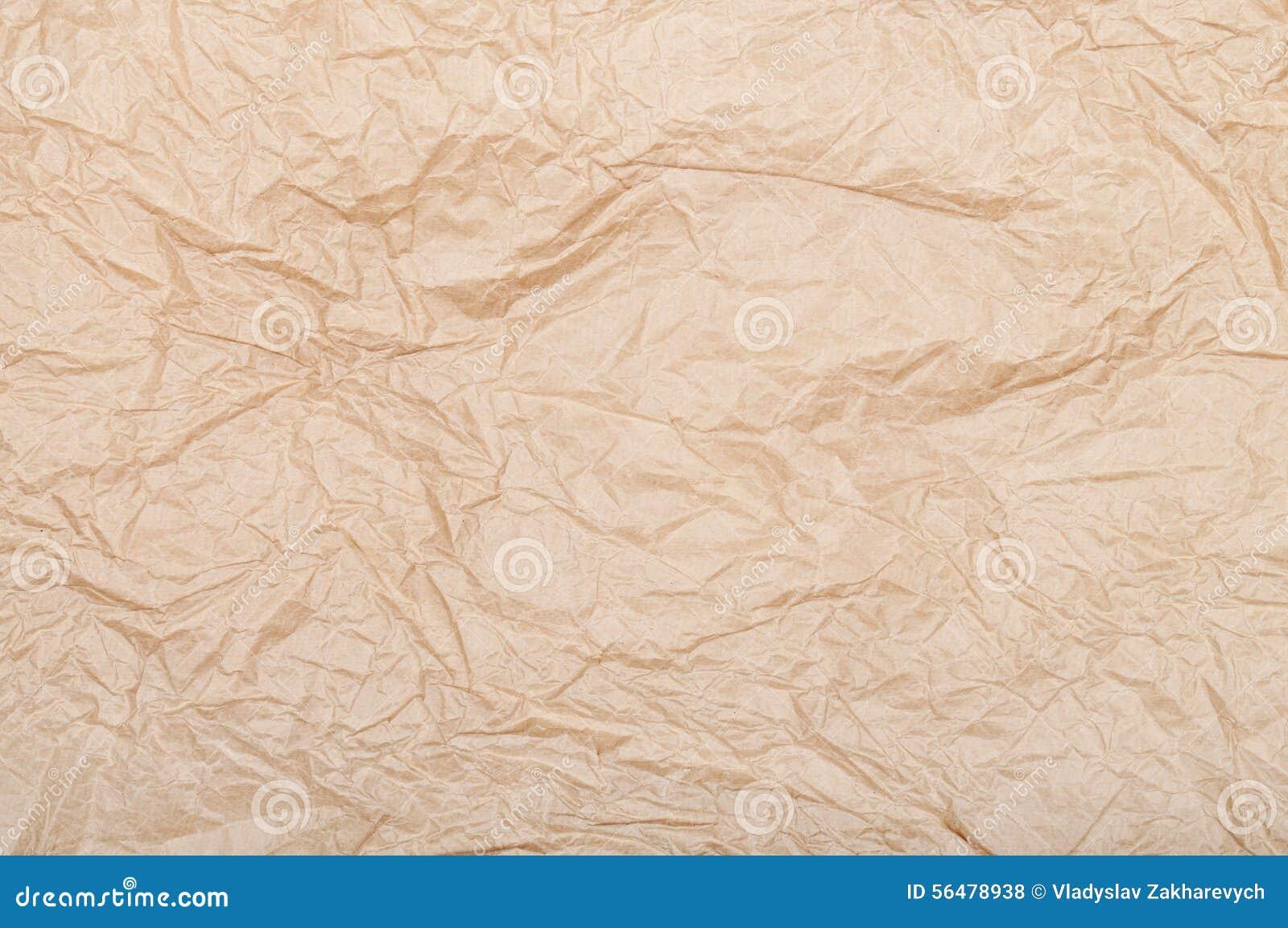 Texture (de papier) froissée