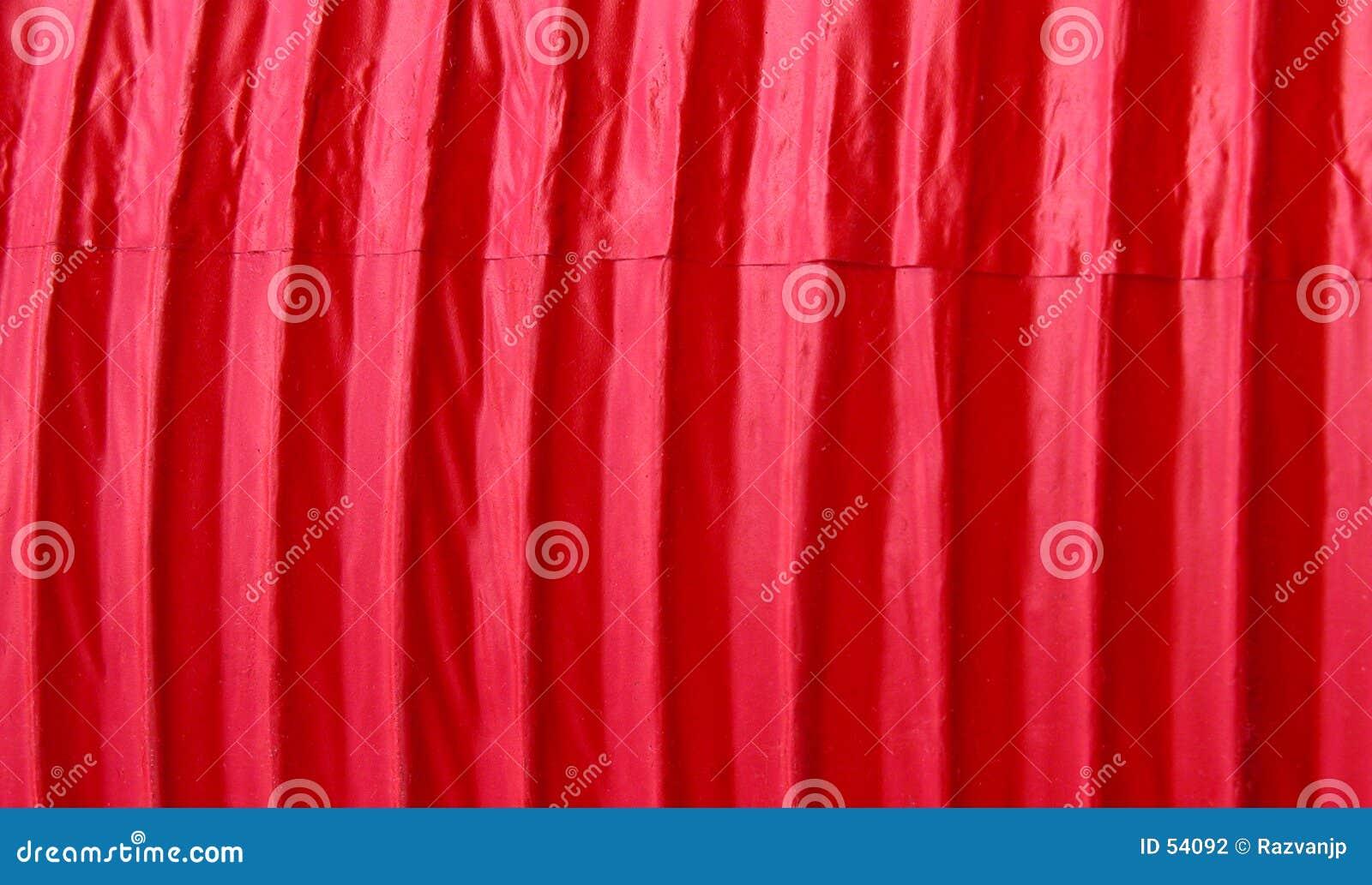 Texture de papier rouge