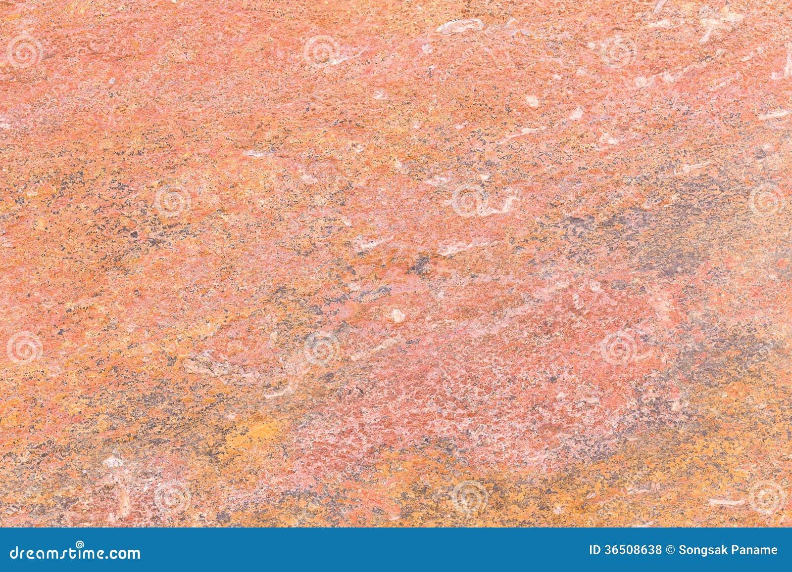 Texture de pierre rouge