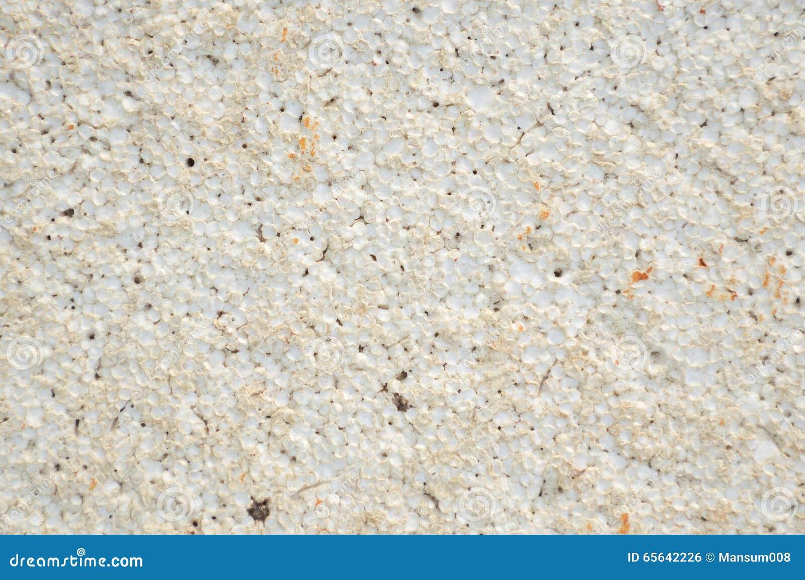 Texture de plastique de mousse