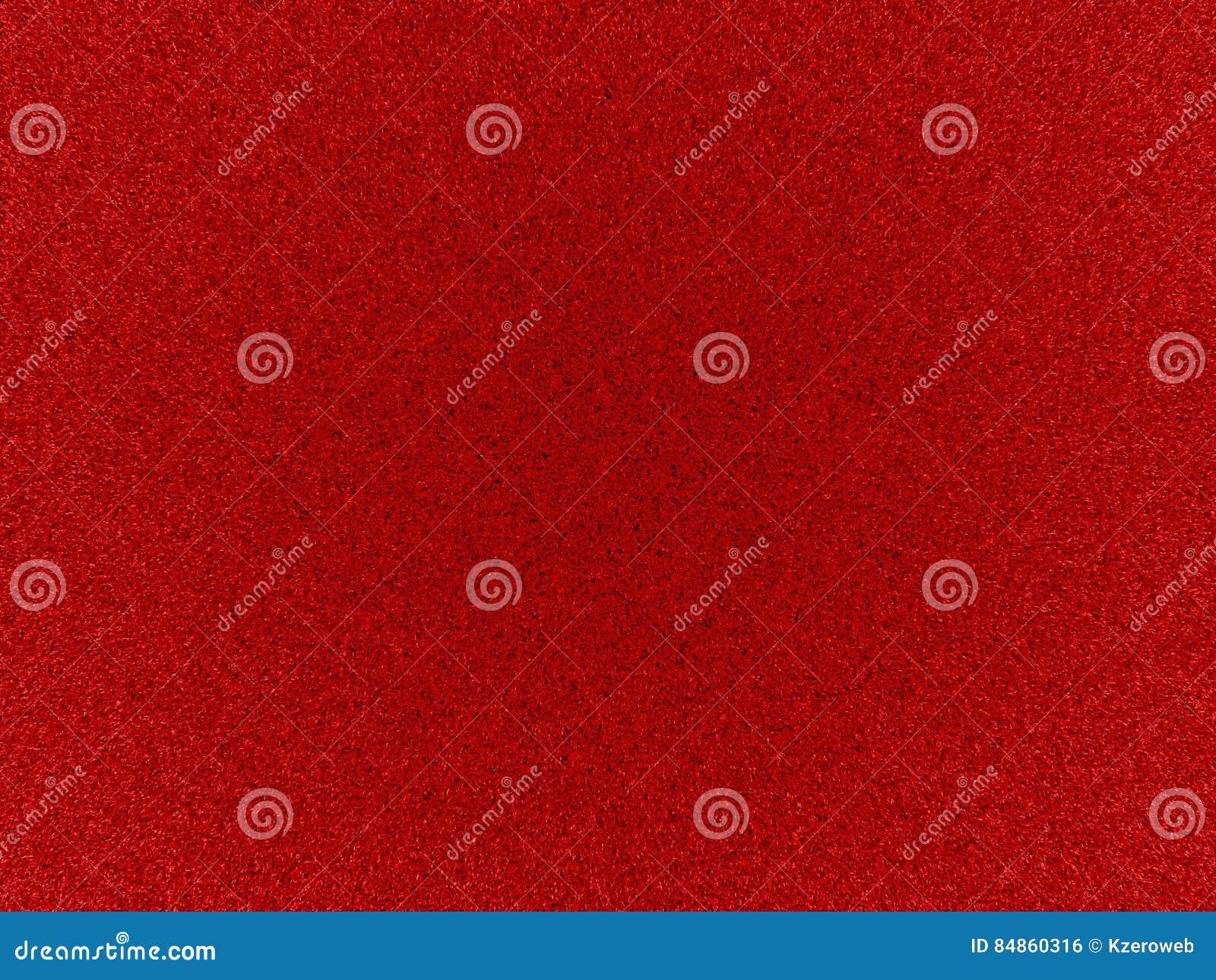 Texture De Tapis Rouge Avec La Fibre Courte Illustration Graphique