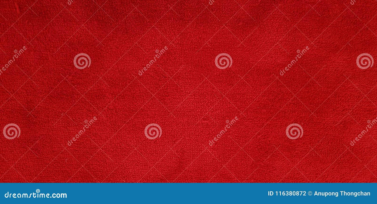 Texture de tapis rouge et détail de fond