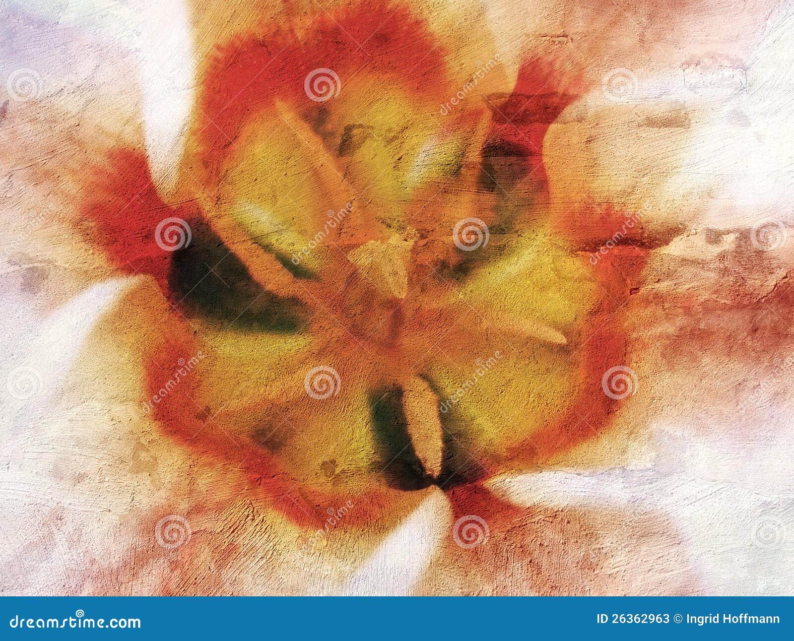 Texture de tulipe
