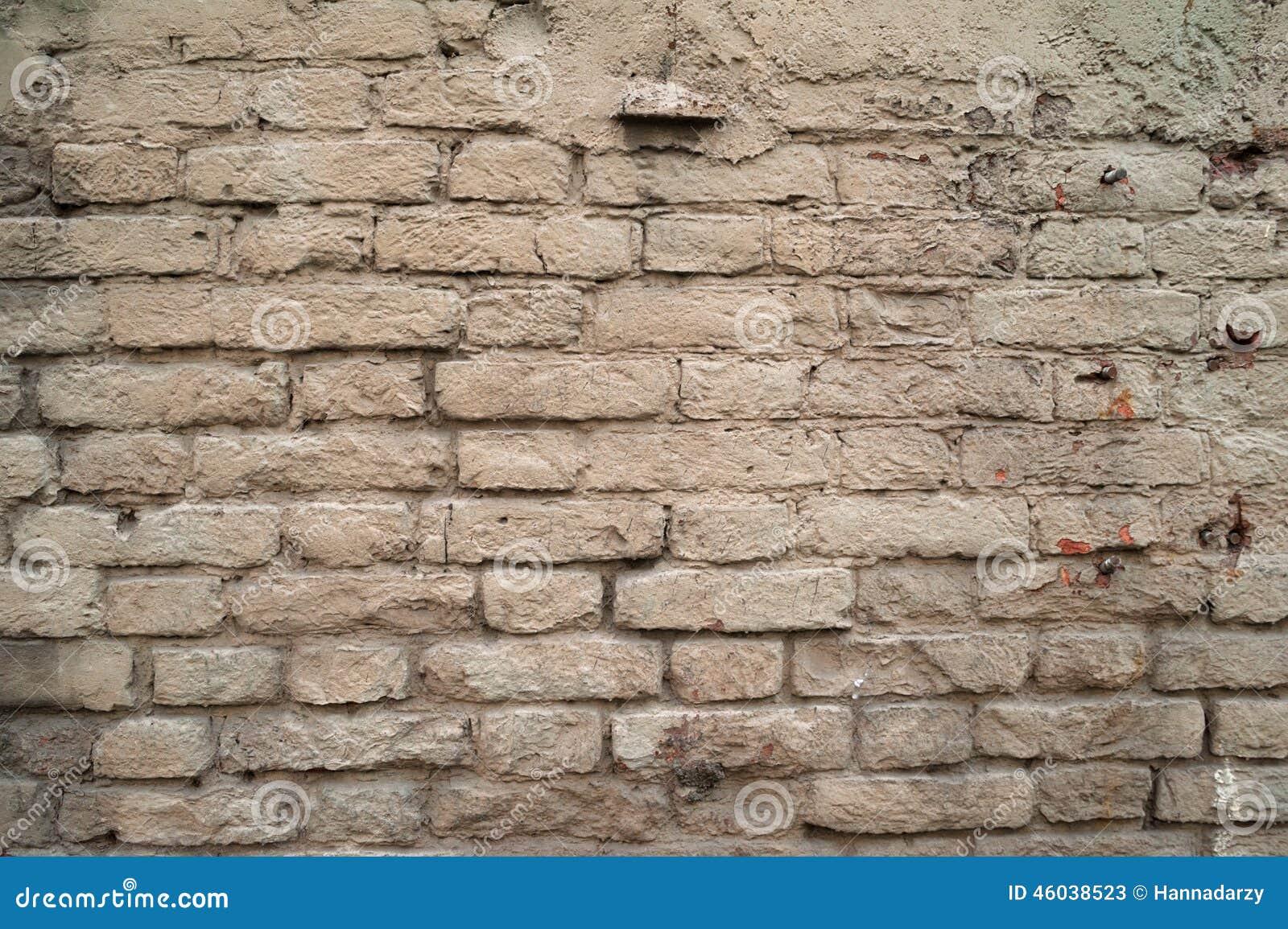 Texture De Vieux Murs De Briques Peinture Grise Peinte